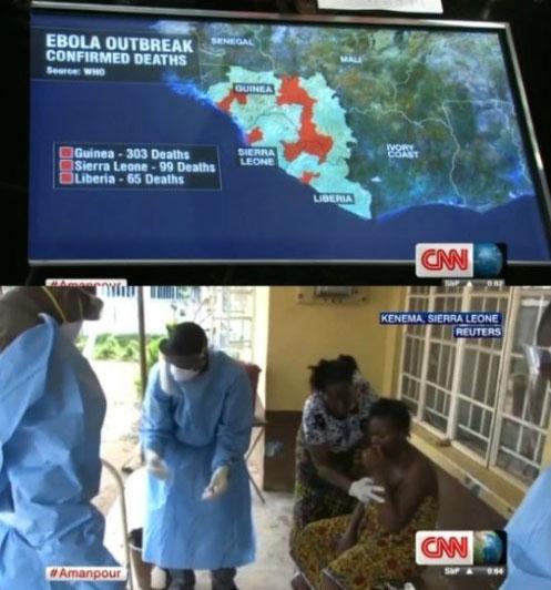 에볼라바이러스예방